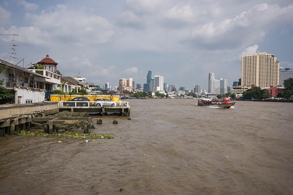 Au bord du Chao Phraya, Chinatown