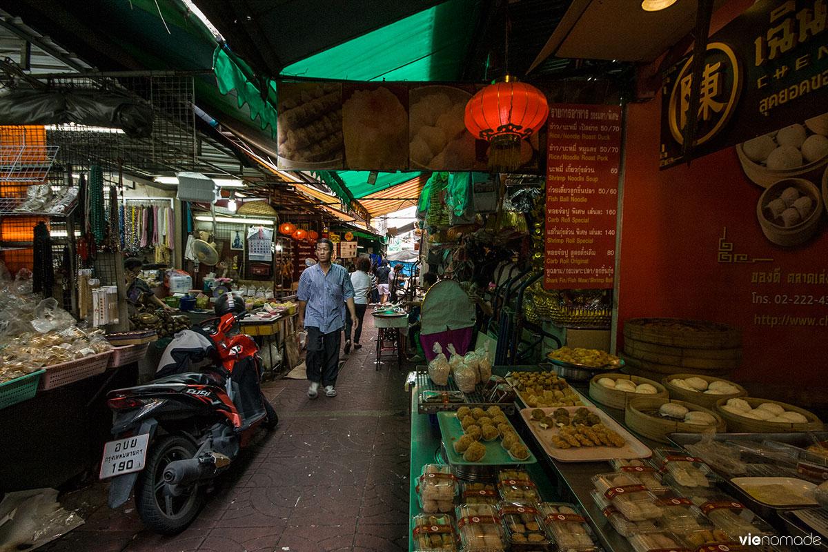 Talat Mai, marché à Chinatown, Bangkok