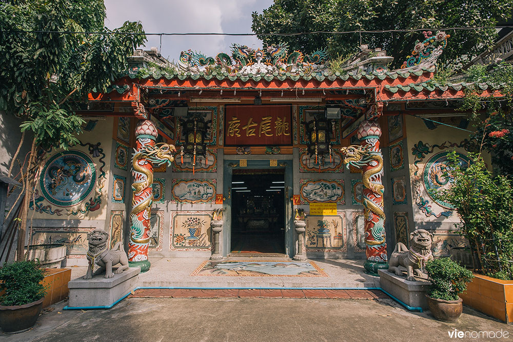 Leng Buai Ia Shrine, temple au coeur du marché de Chinatown