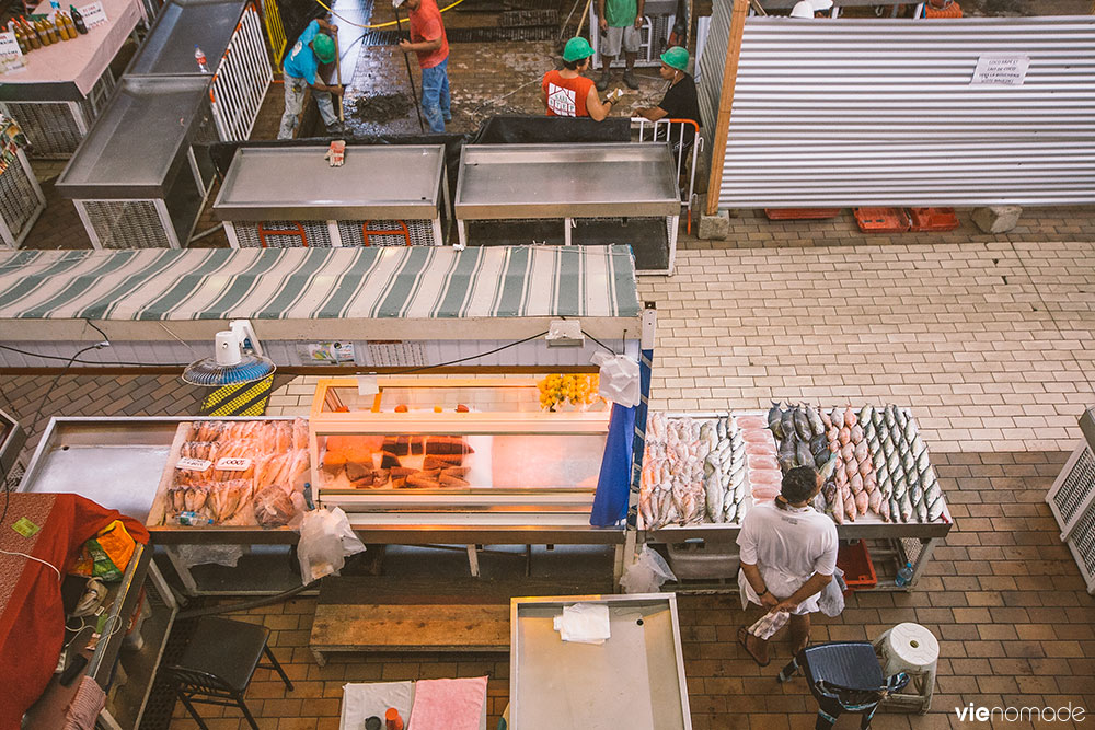 Poisson frais au marché de Papeete