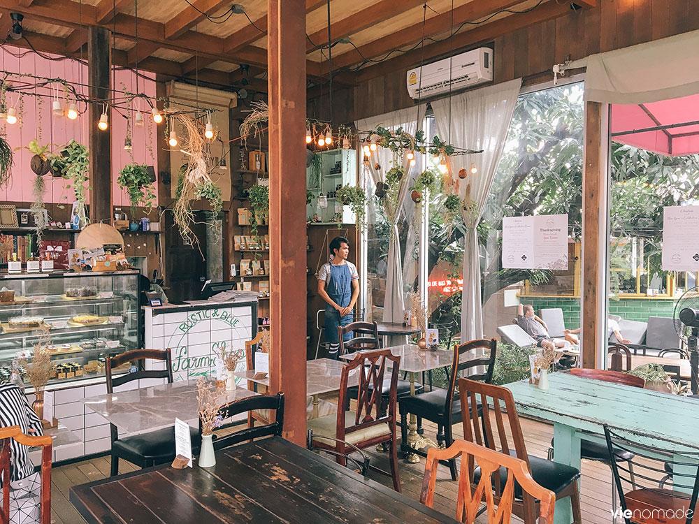 Les meilleurs cafés de Chiang Mai: Rustic & Blue