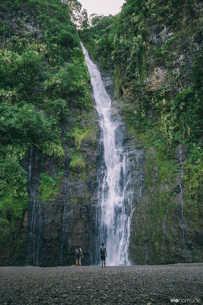 Les Trois Cascades de Faarumai, Tahiti