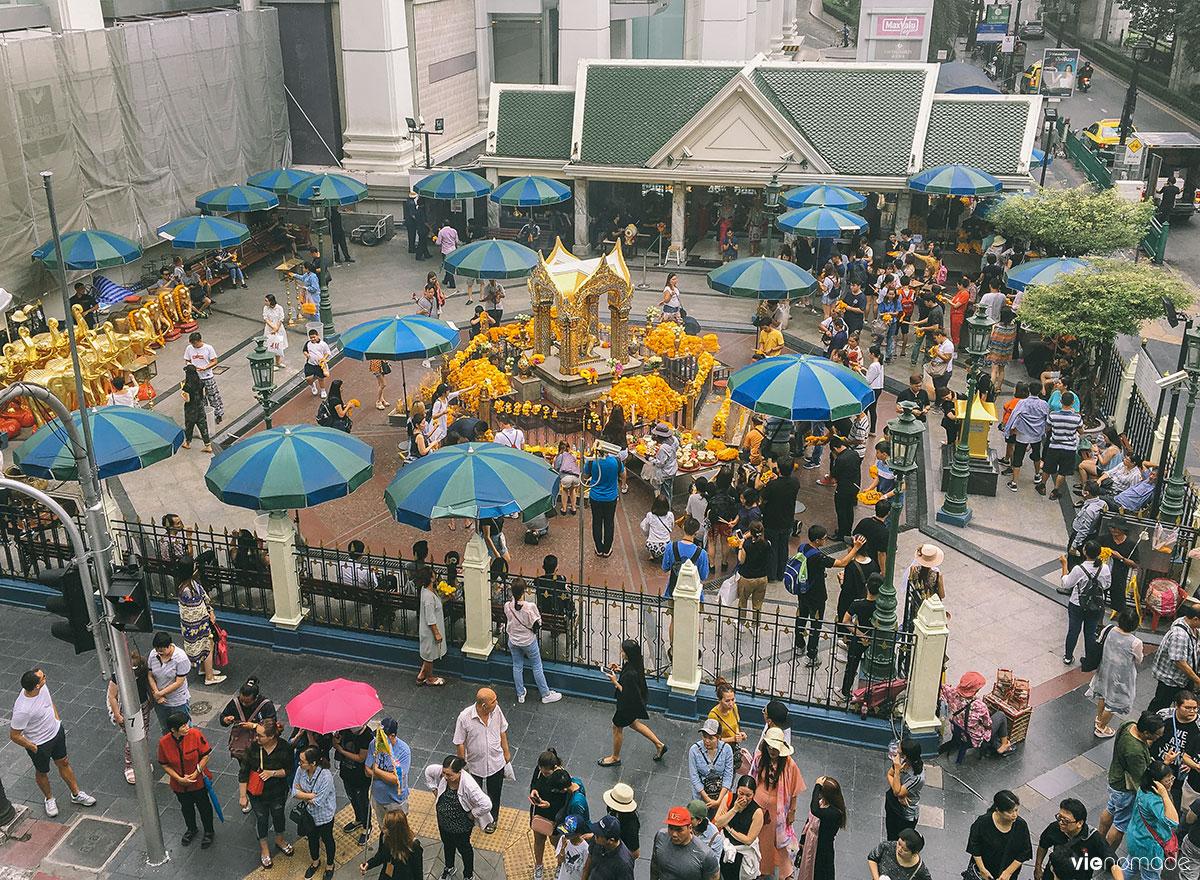 Autel d'Erawan à Bangkok