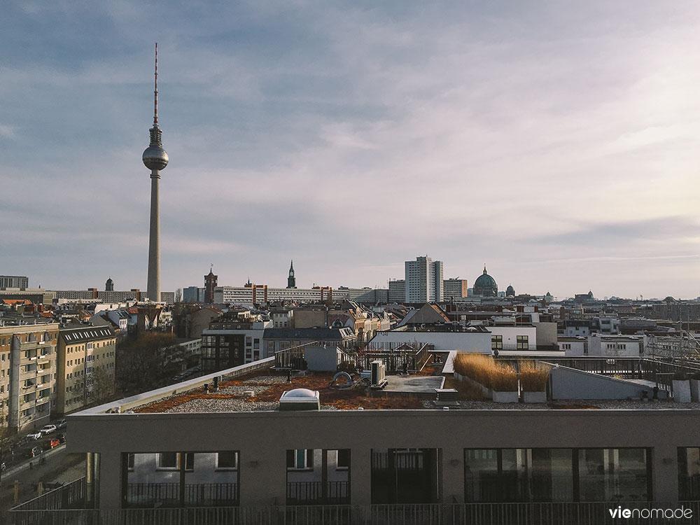 La Fernsehturm de Berlin