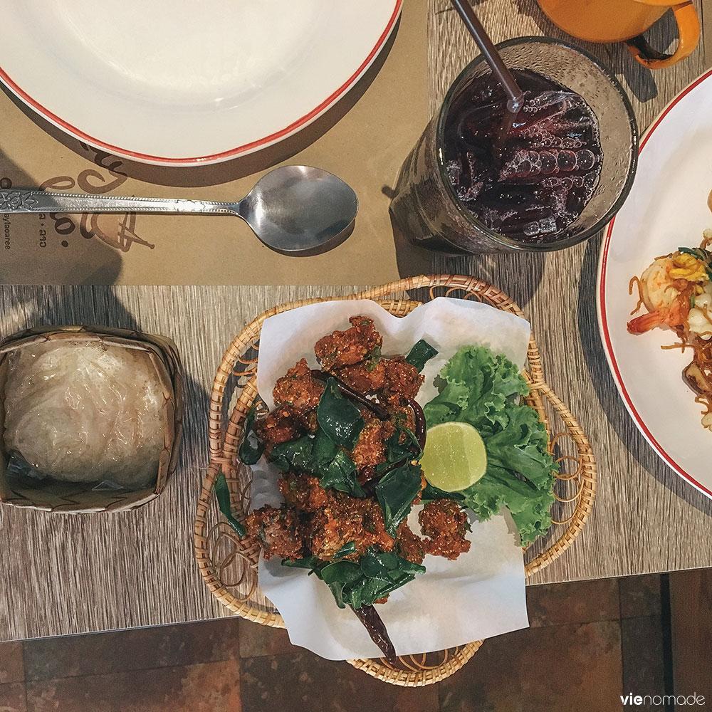 Laab moo tod - boulettes de viande façon Issan