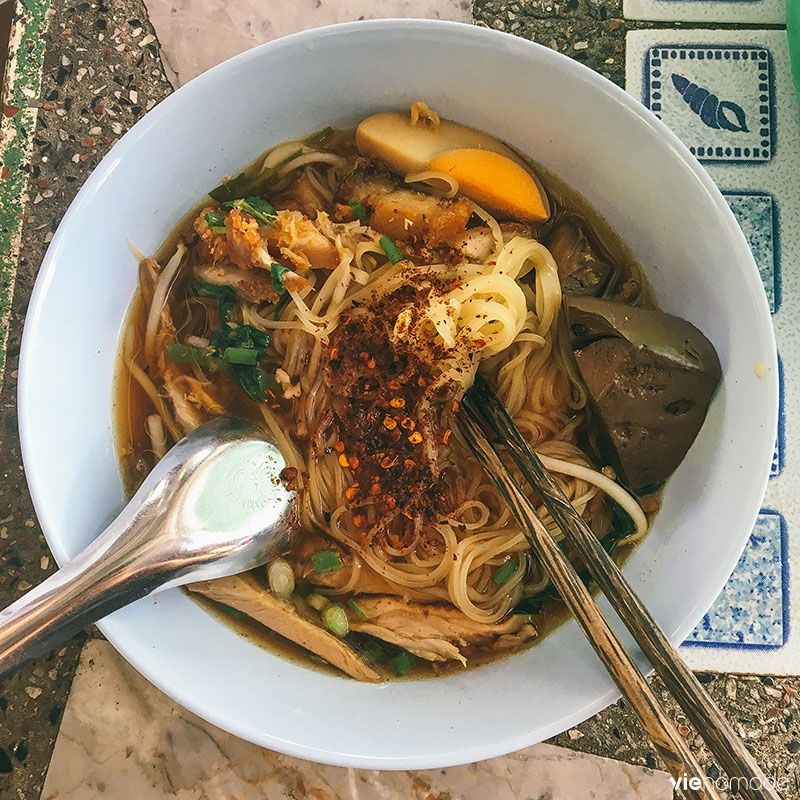 Soupe de nouilles thaïlandaise
