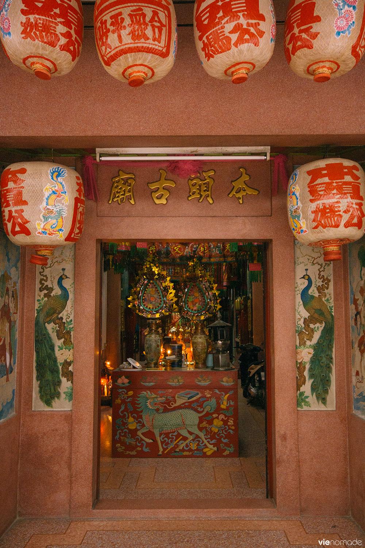 Temple chinois à Bangkok