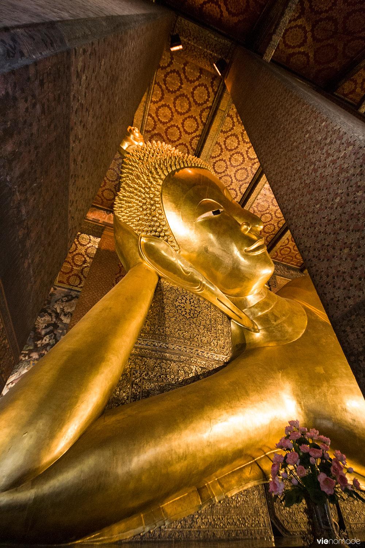 Wat Pho, temple du bouddha couché à Bangkok