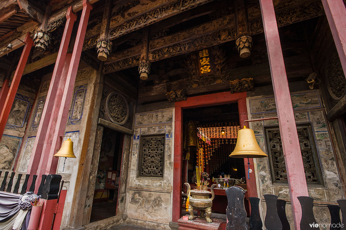Temple chinois Kian Un Keng à Bangkok