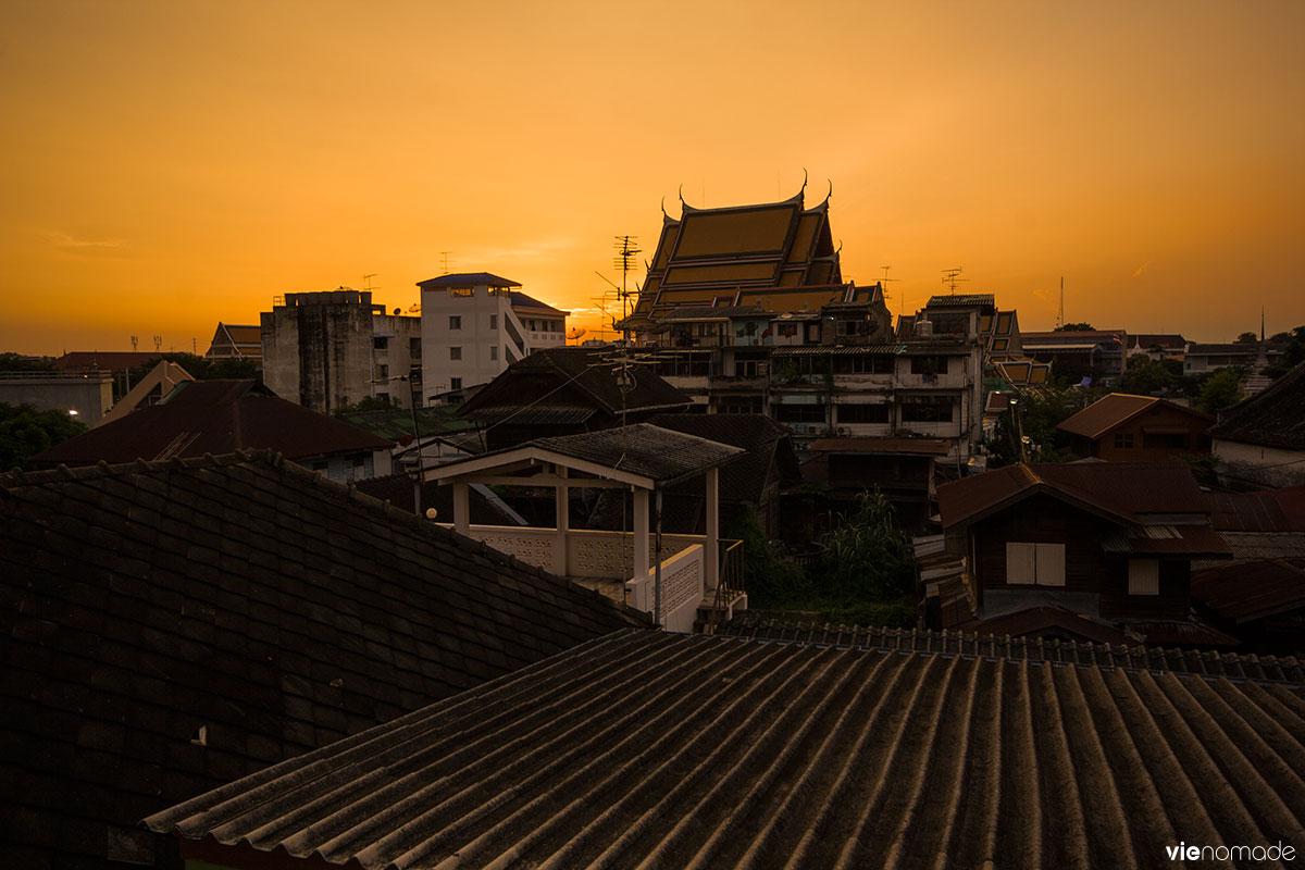 Quartier de Kudichin à Bangkok