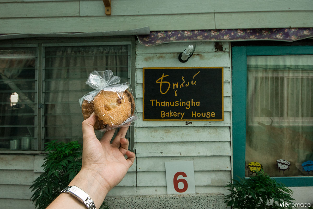 Thanusingha pâtisserie à Bangkok