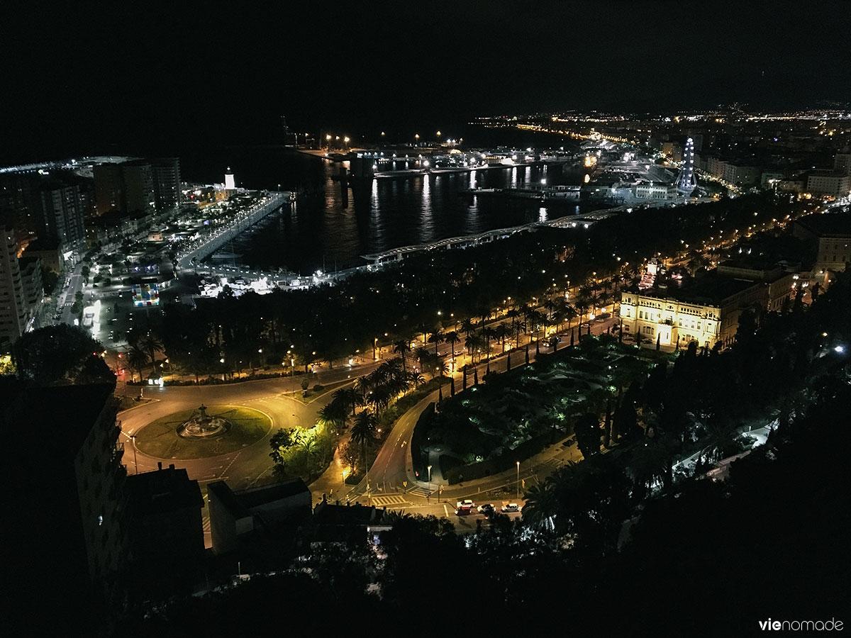 Gibralfaro, le château de Malaga
