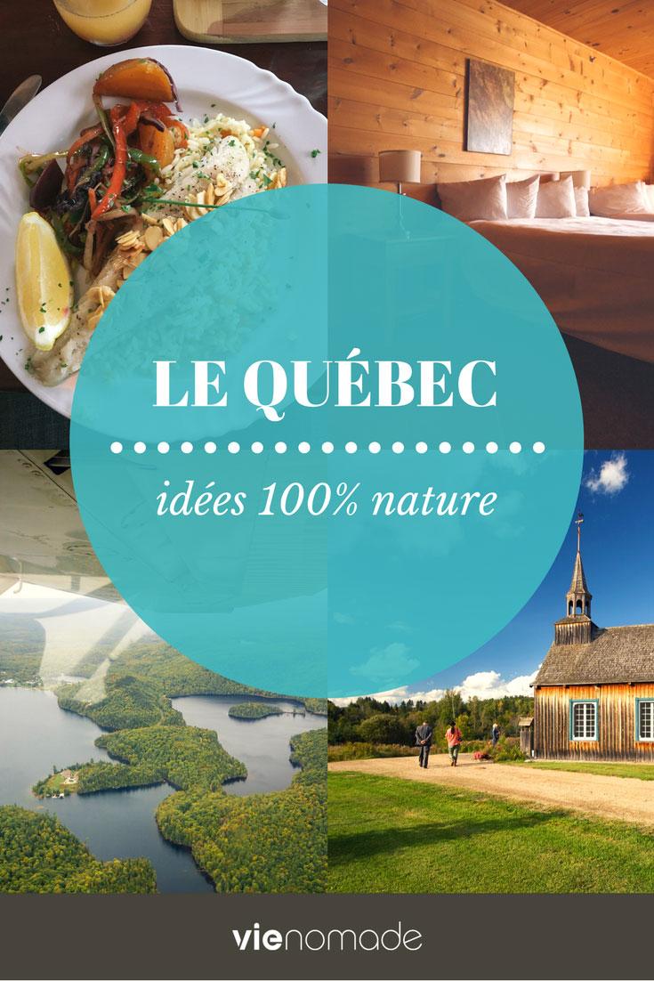 Que faire au Québec en nature? Activités et parcs nationaux