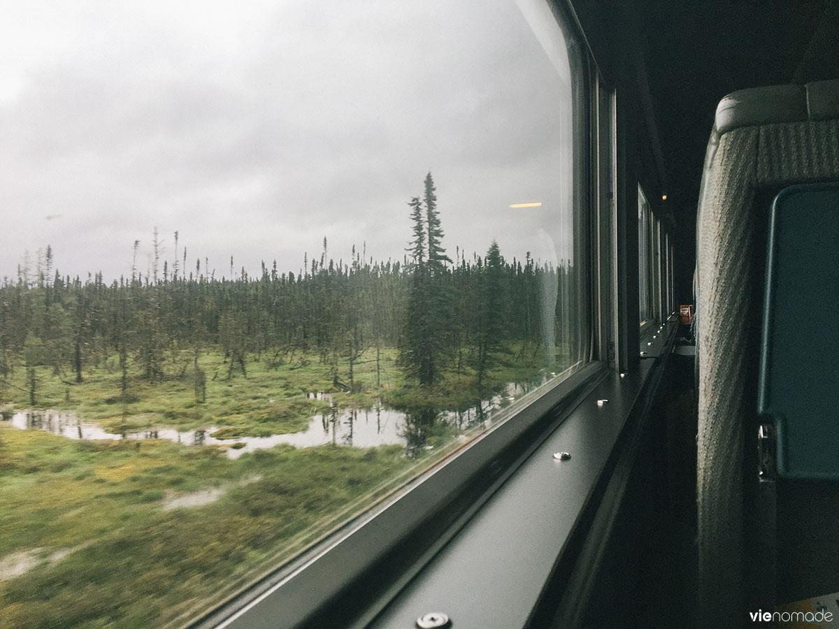 Train Senneterre-Montréal