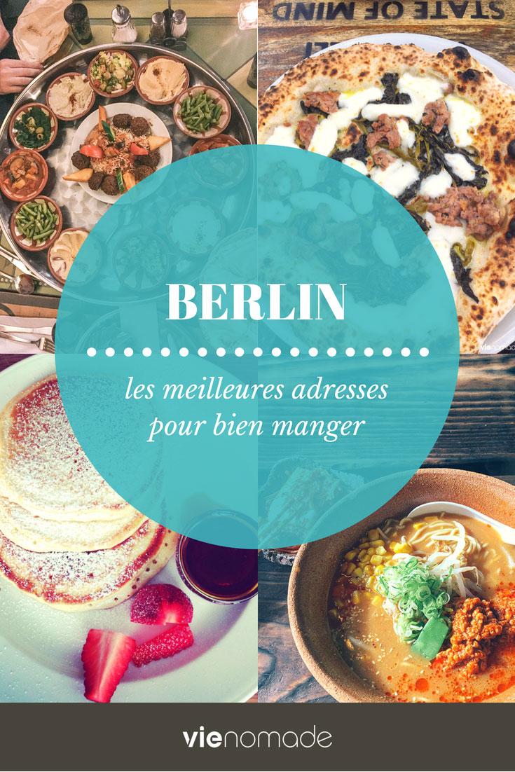 Manger à Berlin: les meilleurs restaurants