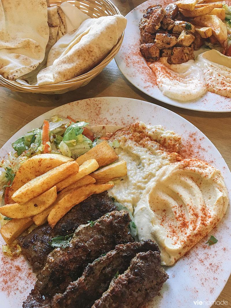 Restaurant libanais à Berlin