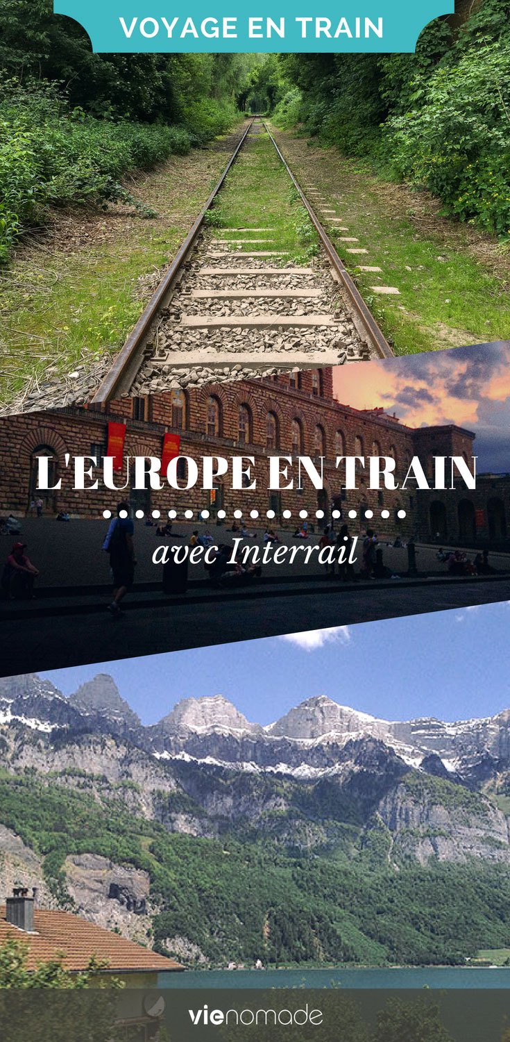 L'Europe en train, avec interrail