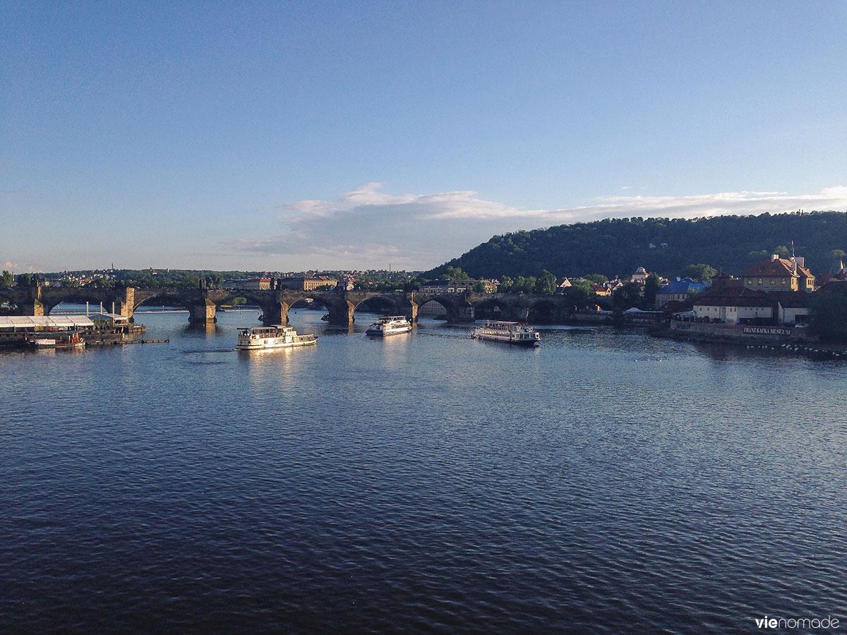 Voyager à Prague avec Interrail