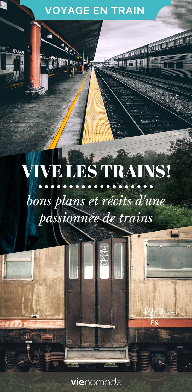 Voyages en train en Europe et dans le monde