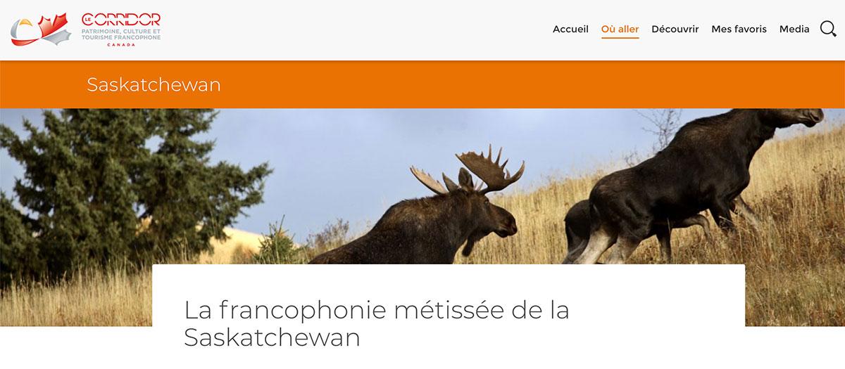 Le Corridor: patrimoine, culture et tourisme francophone au Canada