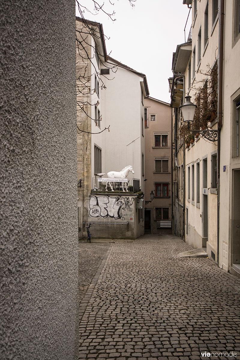 Un week-end à Zürich, le guide