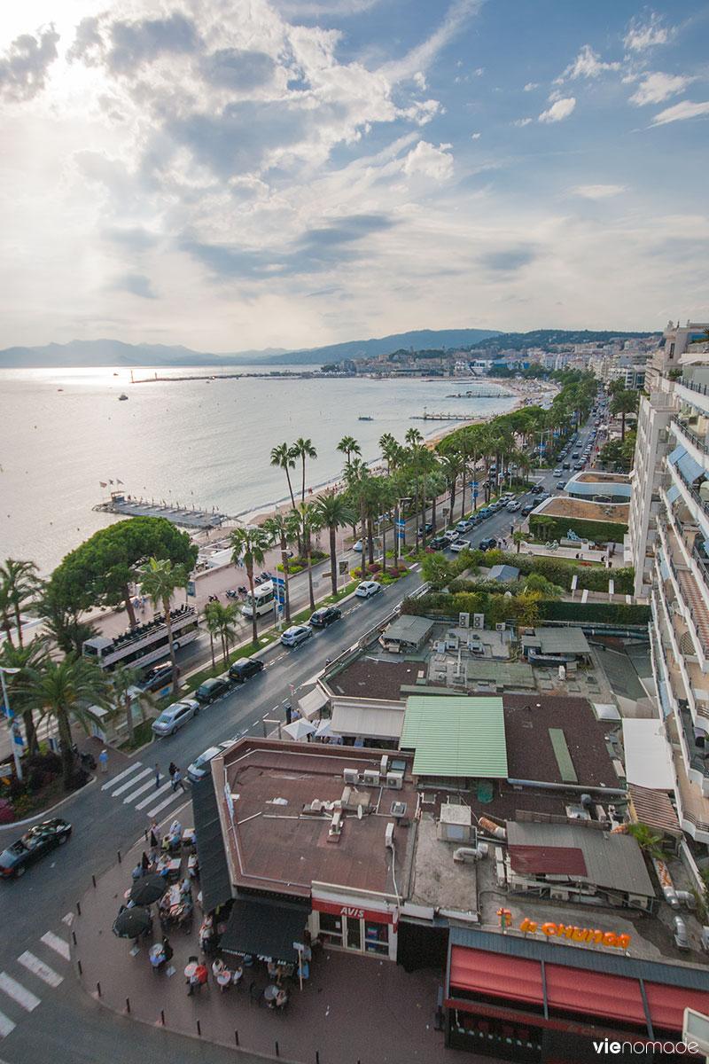 La croisette de Cannes
