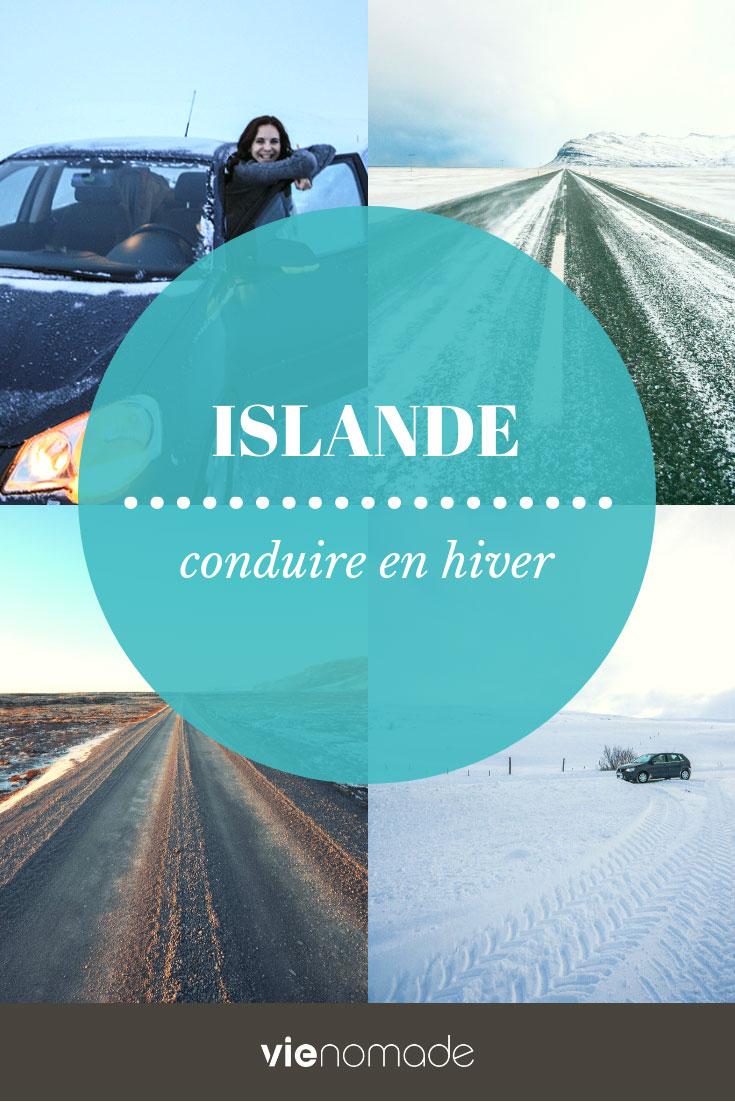 Road trip en hiver en Islande: conduire sans danger