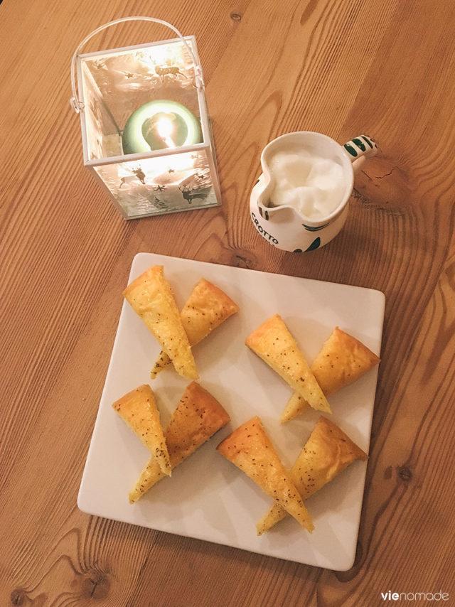 Torta fioretto, dessert typique de la région de Sondrio