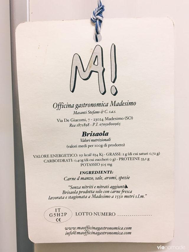 Ma!Officina, produits artisanaux de la Valtellina à Madesimo