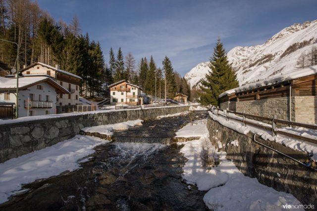 Station de ski de Madesimo, alpes italiennes