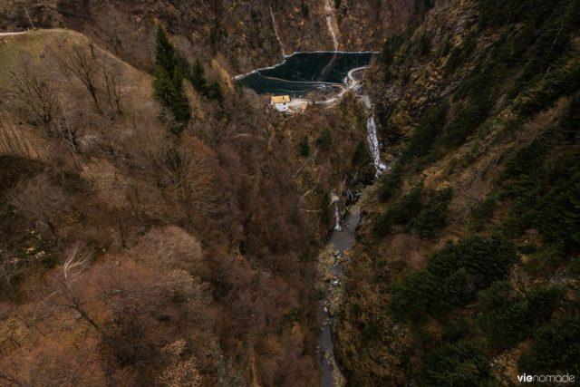 Le Ponte nel Ciel, pont bhoutanais à Tartano, Sondrio