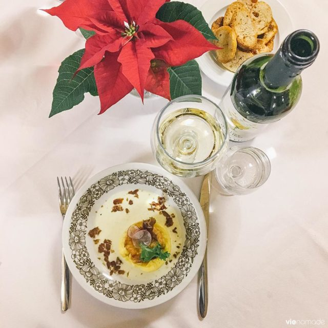 Manger dans la Valtellina, près de Chiavenna, à Pianazzola