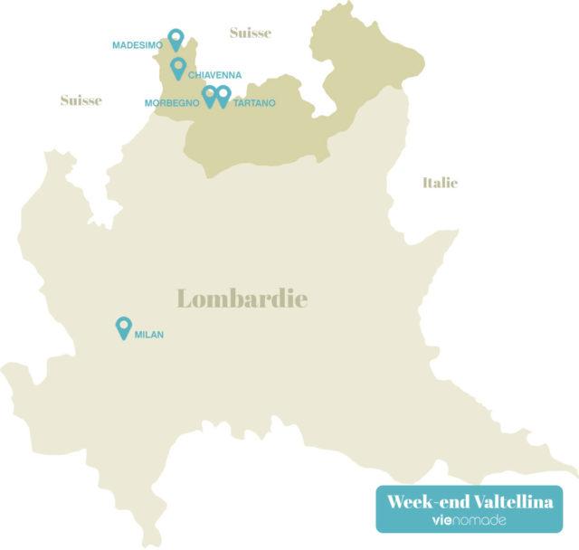 Province de Sondrio et Valtellina, Italie