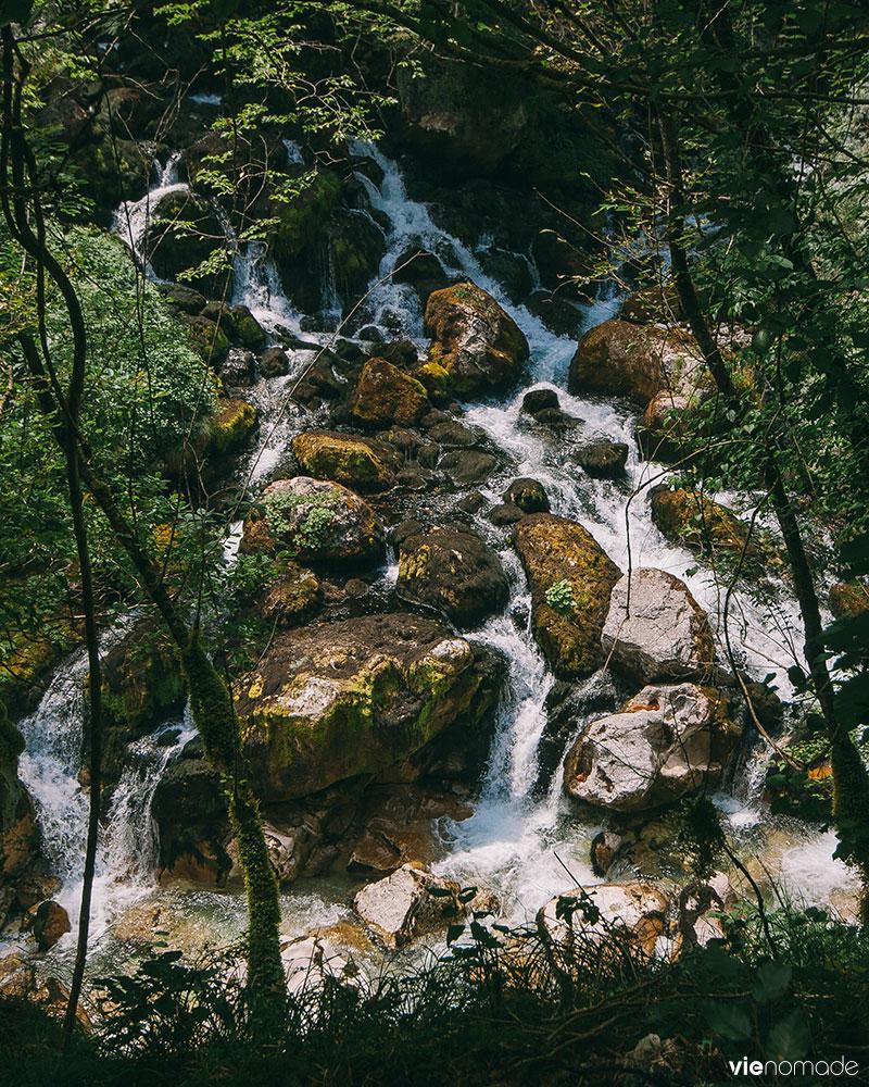 Cascade au Monténégro