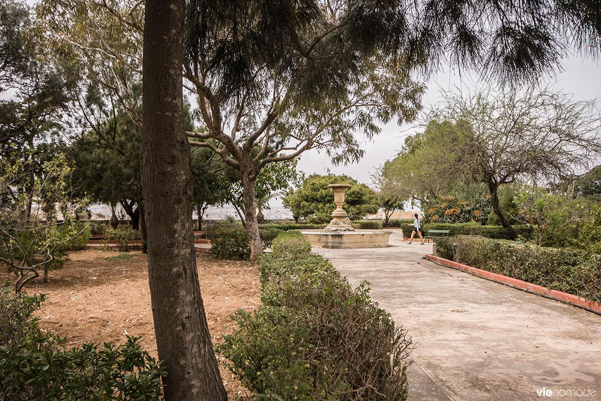 Jardin botanique à la Valette, Malte