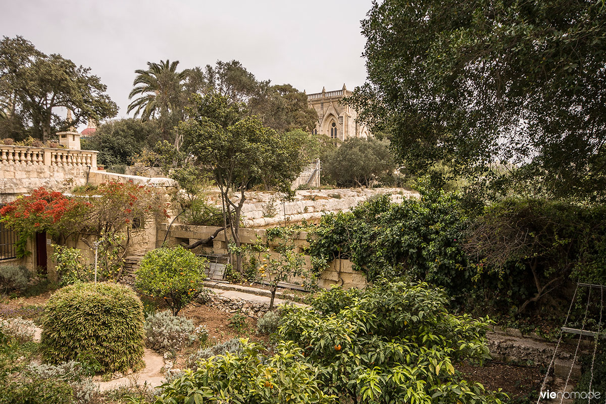 Jardin botanique Argotti, La Valette