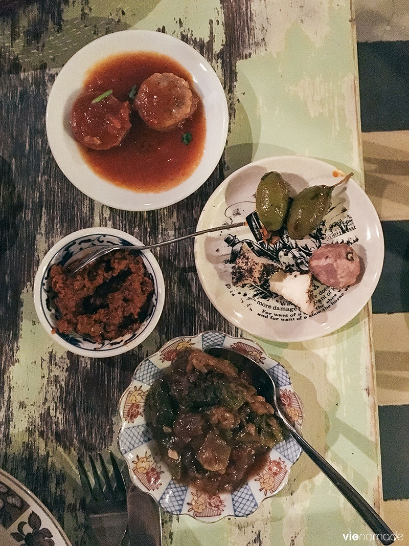 Manger à La Valette, à Malte