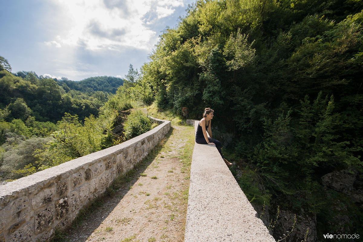 Randonnée au canyon de la Mrtvica