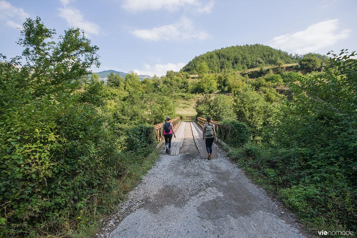 Randonnée au Monténégro