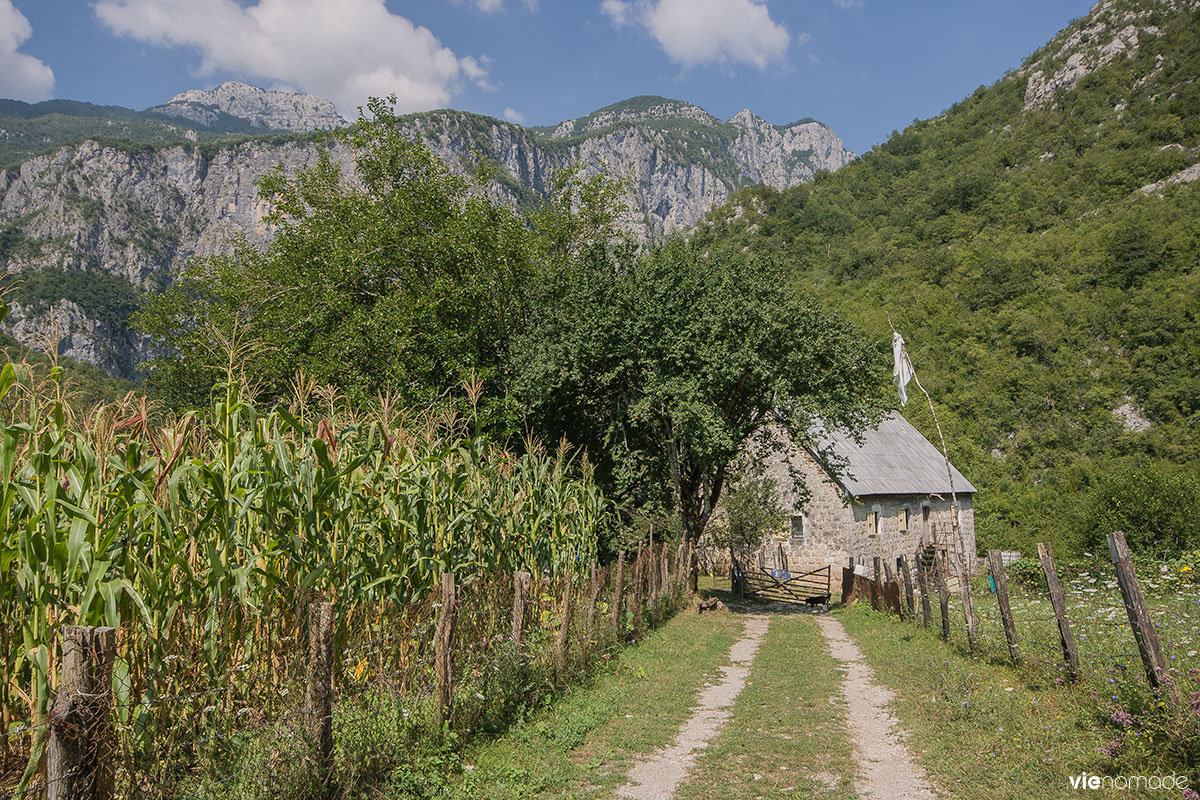 Randonnée à la Mrtvica