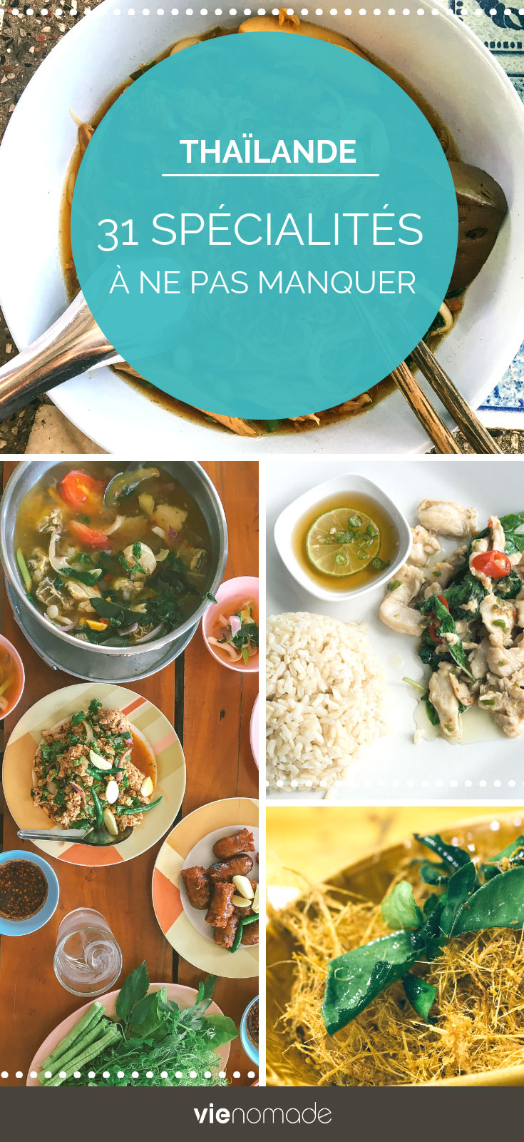 Cuisine thai et spécialités traditionnelles thailandaises