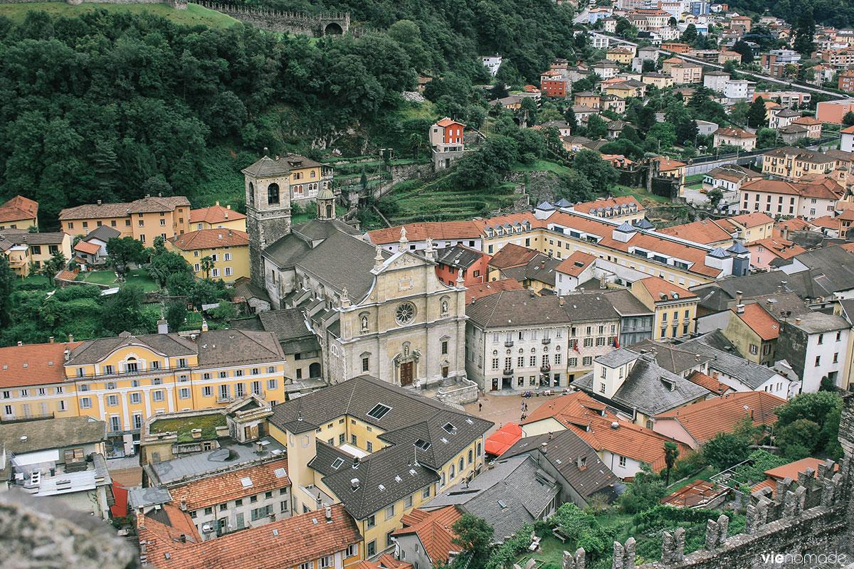 Randonner au Tessin: Bellinzona