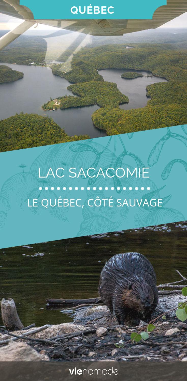 Hôtel et Lac de Sacacomie