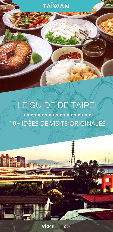 Que faire et que voir à Taipei