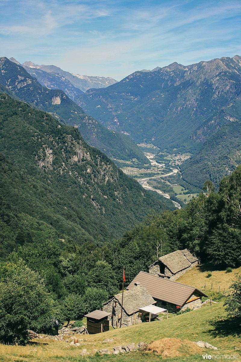 Randonnée en Suisse, dans les Alpes