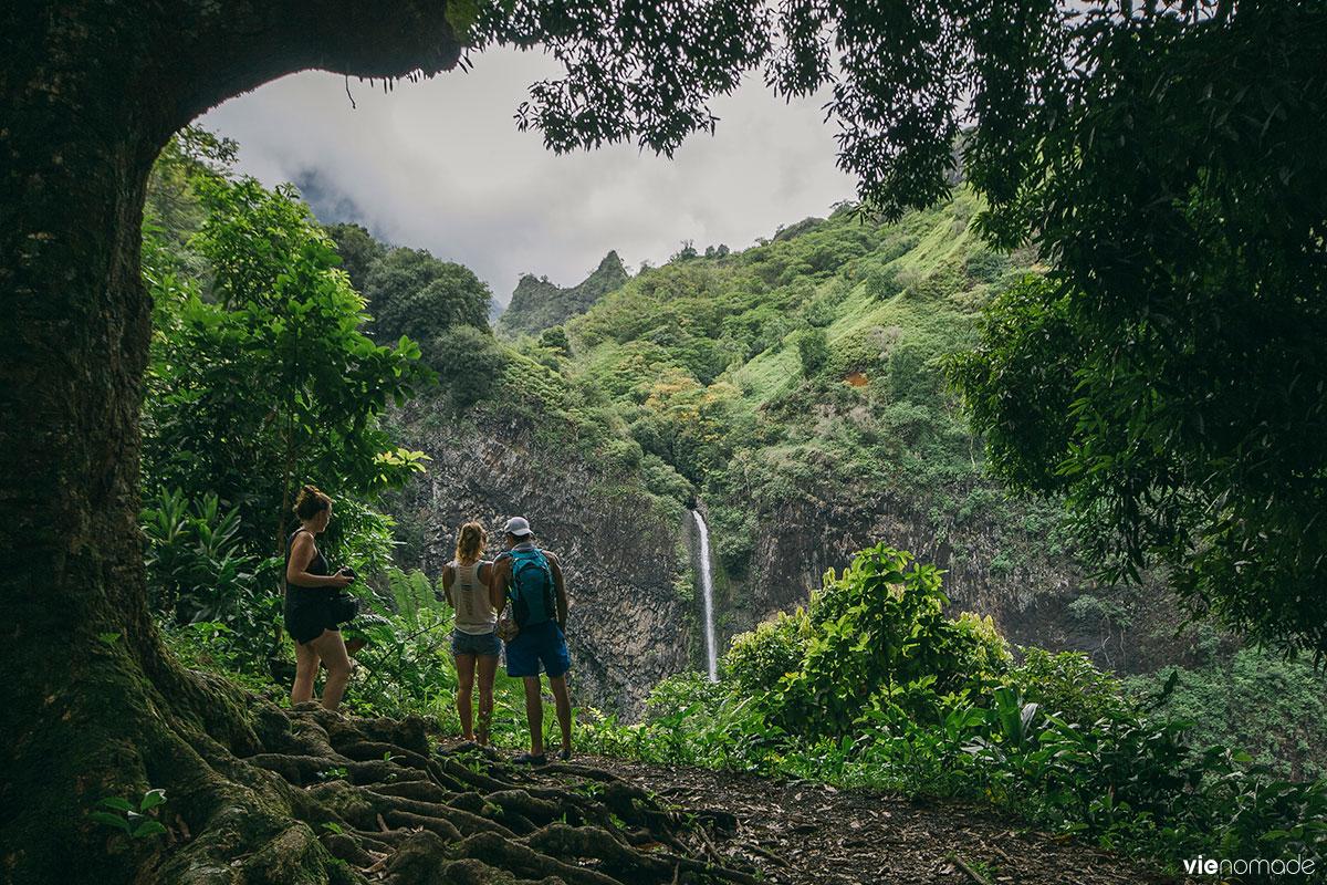Randonnée en Polynésie Française