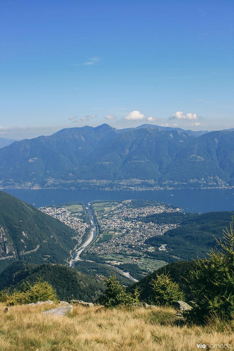 Suisse: randonnée dans les montagnes
