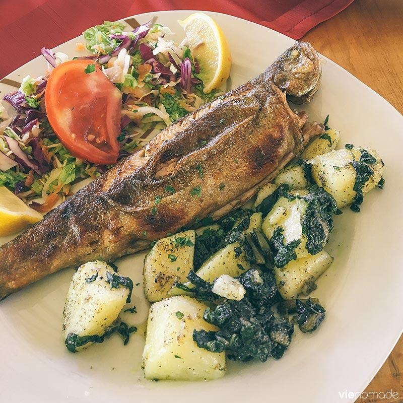 Restaurant Antik, frontière Bosnie et Monténégro