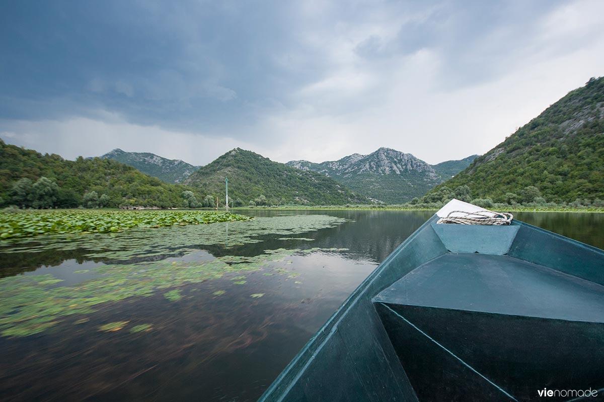 Tour en bateau à Skadar