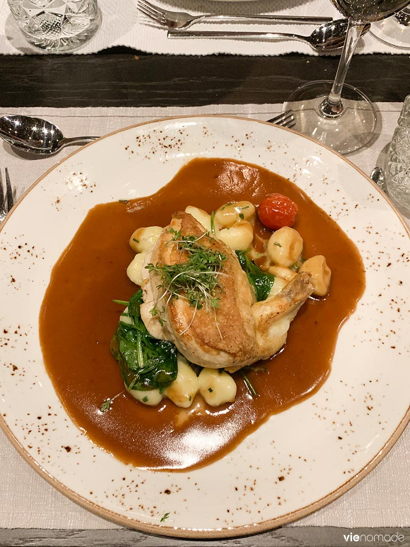 Manger à Graz: restaurant Aiola im Schloss